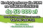 Kredyty dla FIRM na UPROSZCZONYCH PROCEDURACH! Cała Polska!