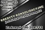 kredytY KONSOLIDACYJNE/GOTÓWKOWE – jedna NISKA rata,zamiast kilku!Cała Polska!